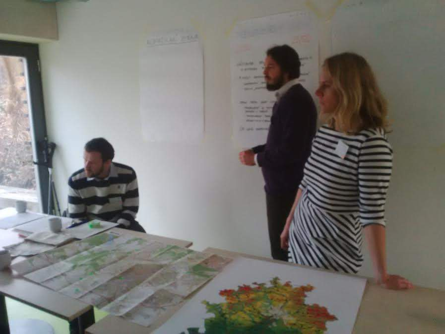 Pracovníci Kanceláře strategie města, z leva: Jan Holeček, Jaromír Emmer, Eva Kalová