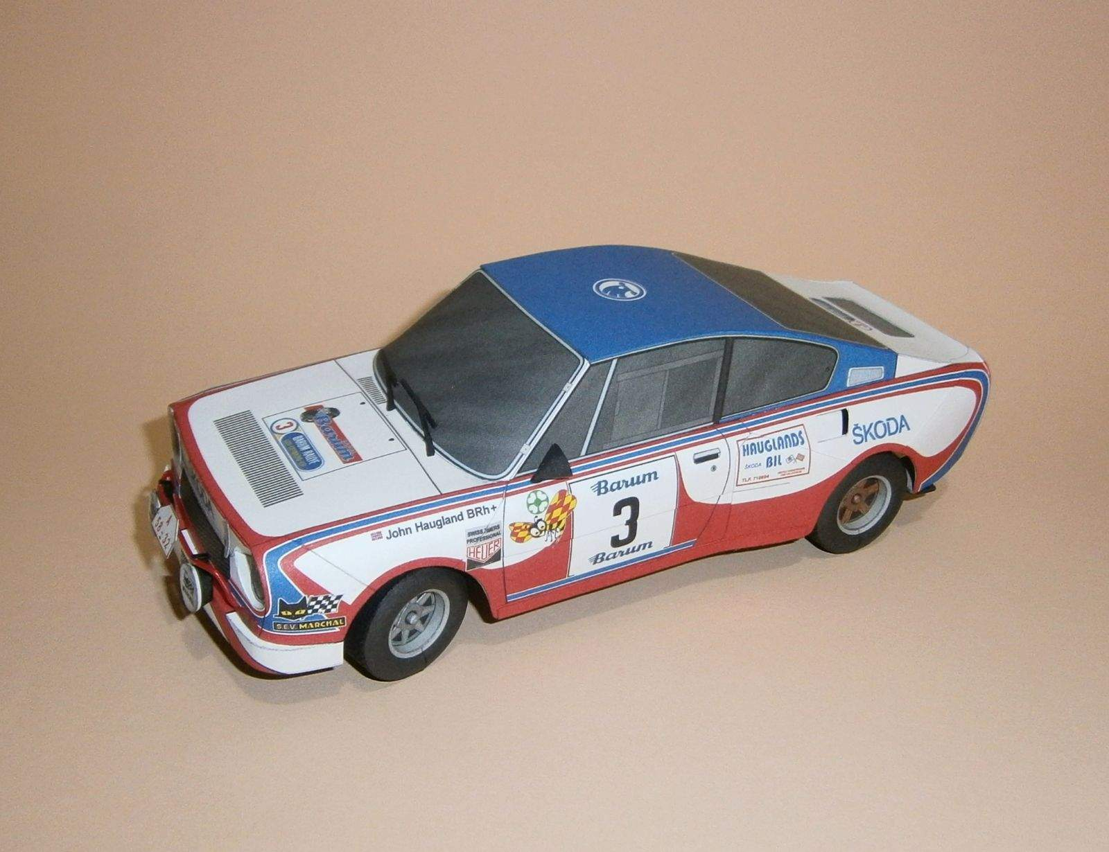 Škoda 130 RS - Barum Rallye 1981