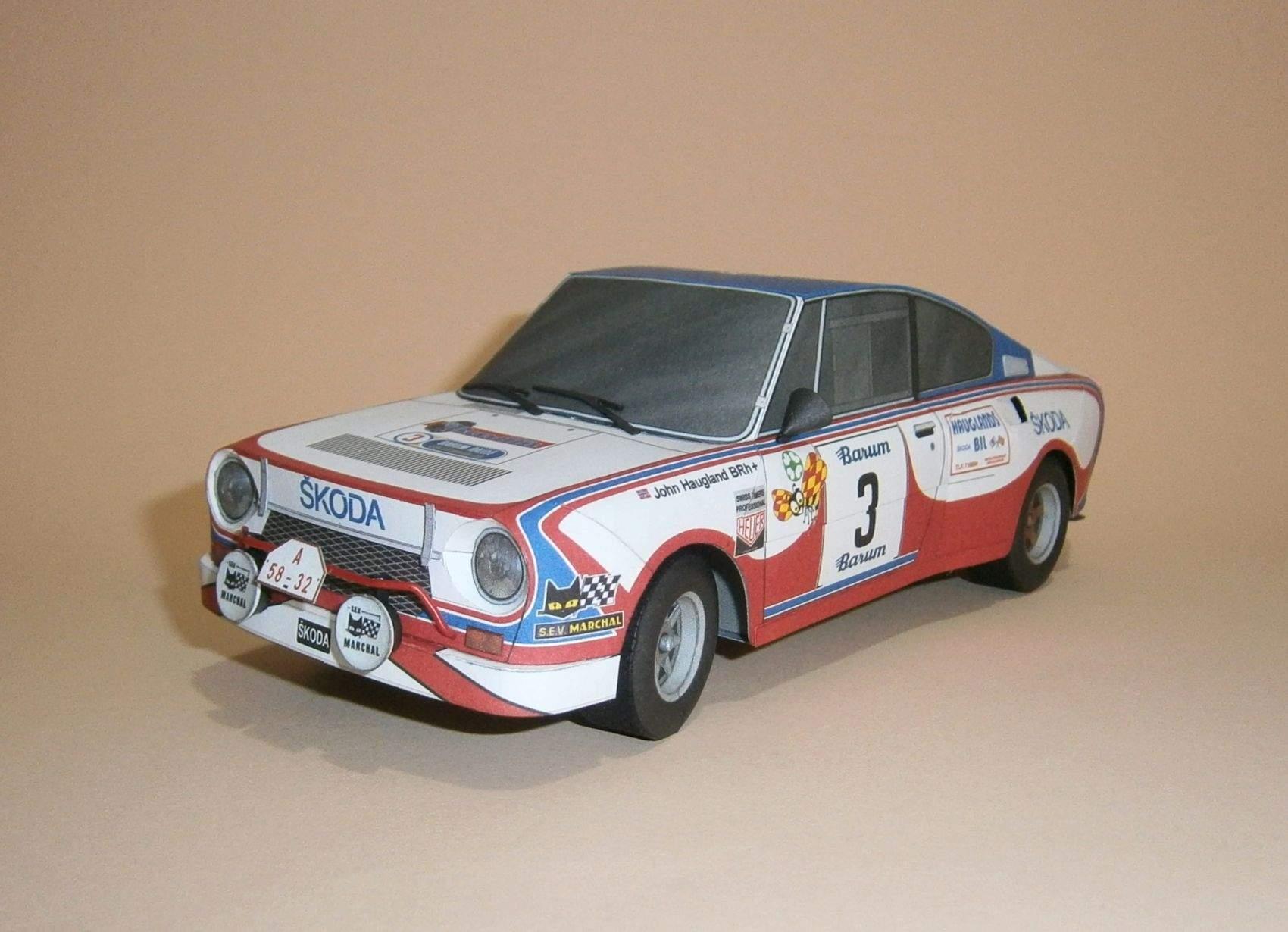 Škoda 130 RS - Barum Rallye 1981