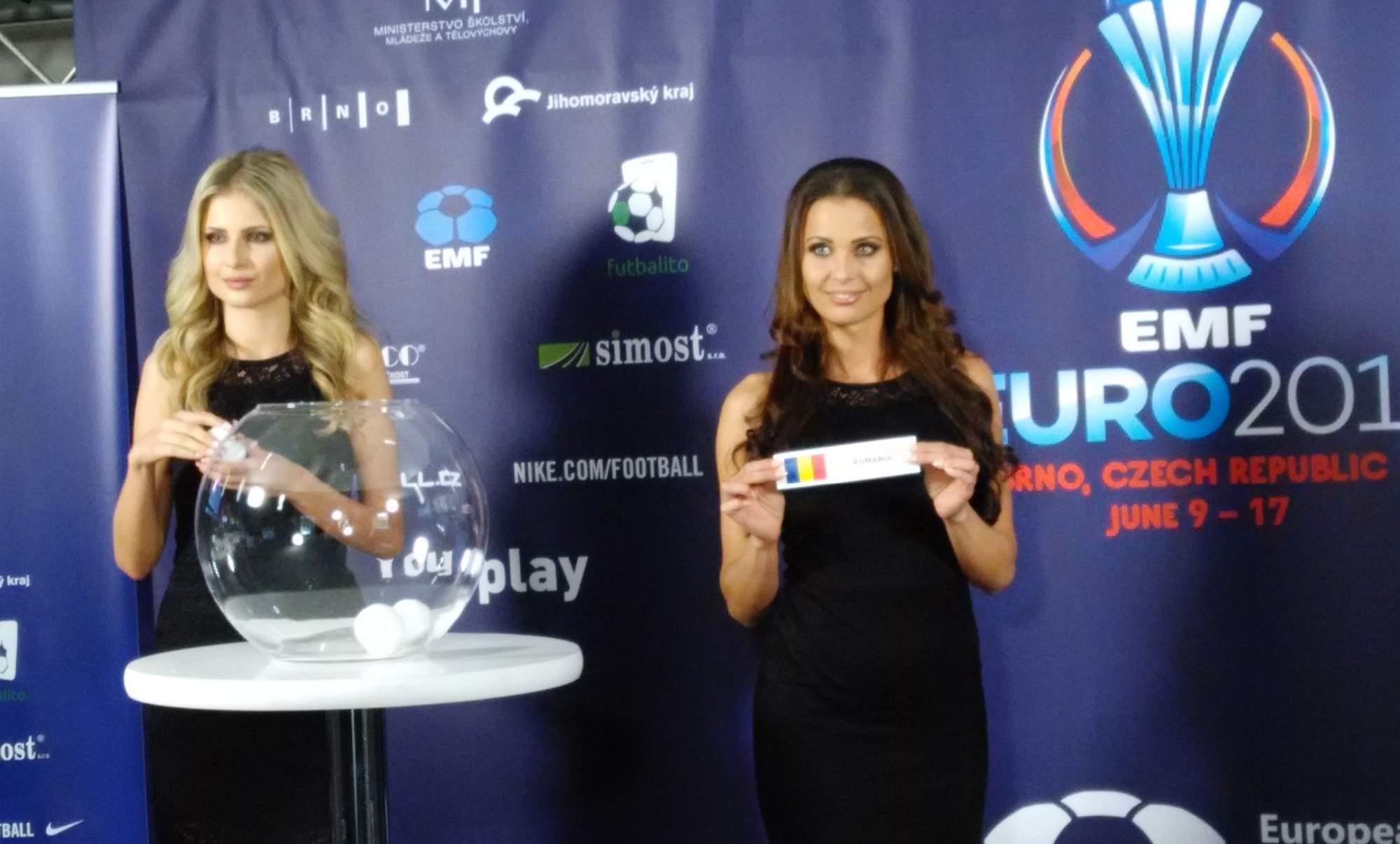 Slečny vylosovaly jednoho z favoritů turnaje Rumunsko. Foto: Radek Krajči