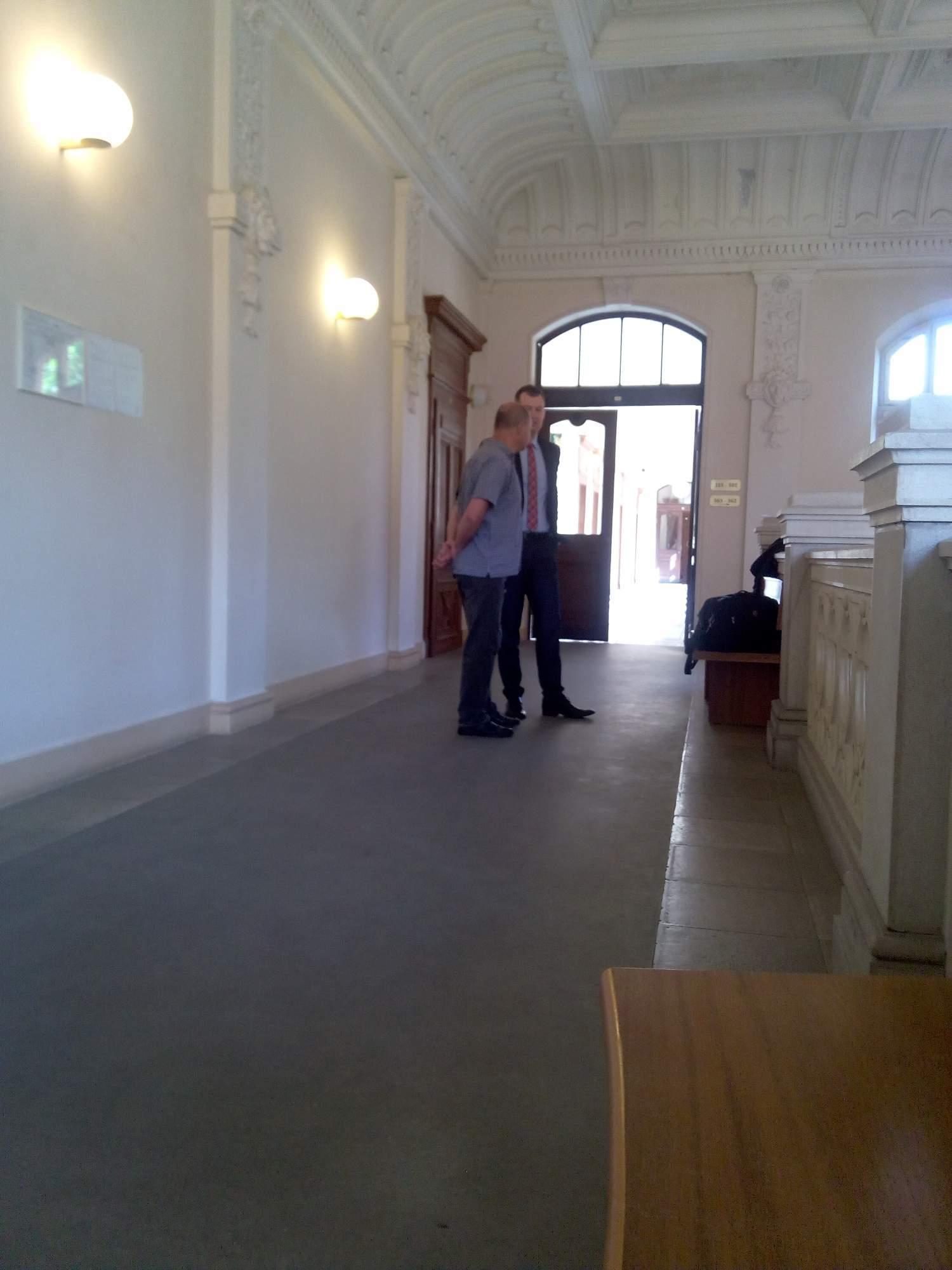 Obžalovaný Martin Charamza před jednáním. / Foto: Lenka Jebáčková