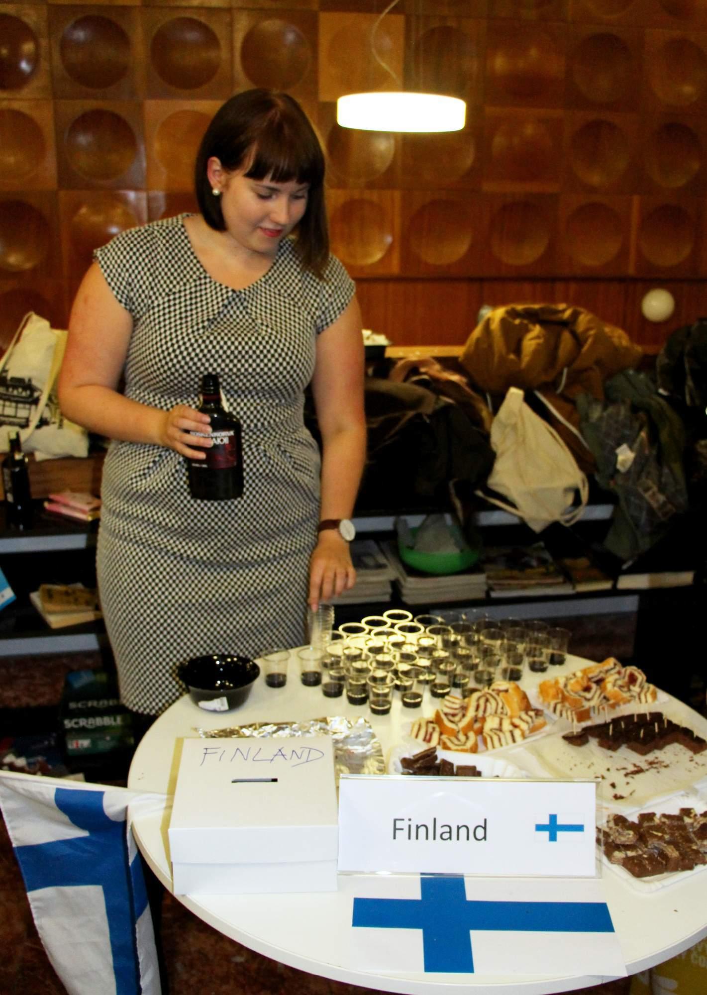 Finský stánek na IFF