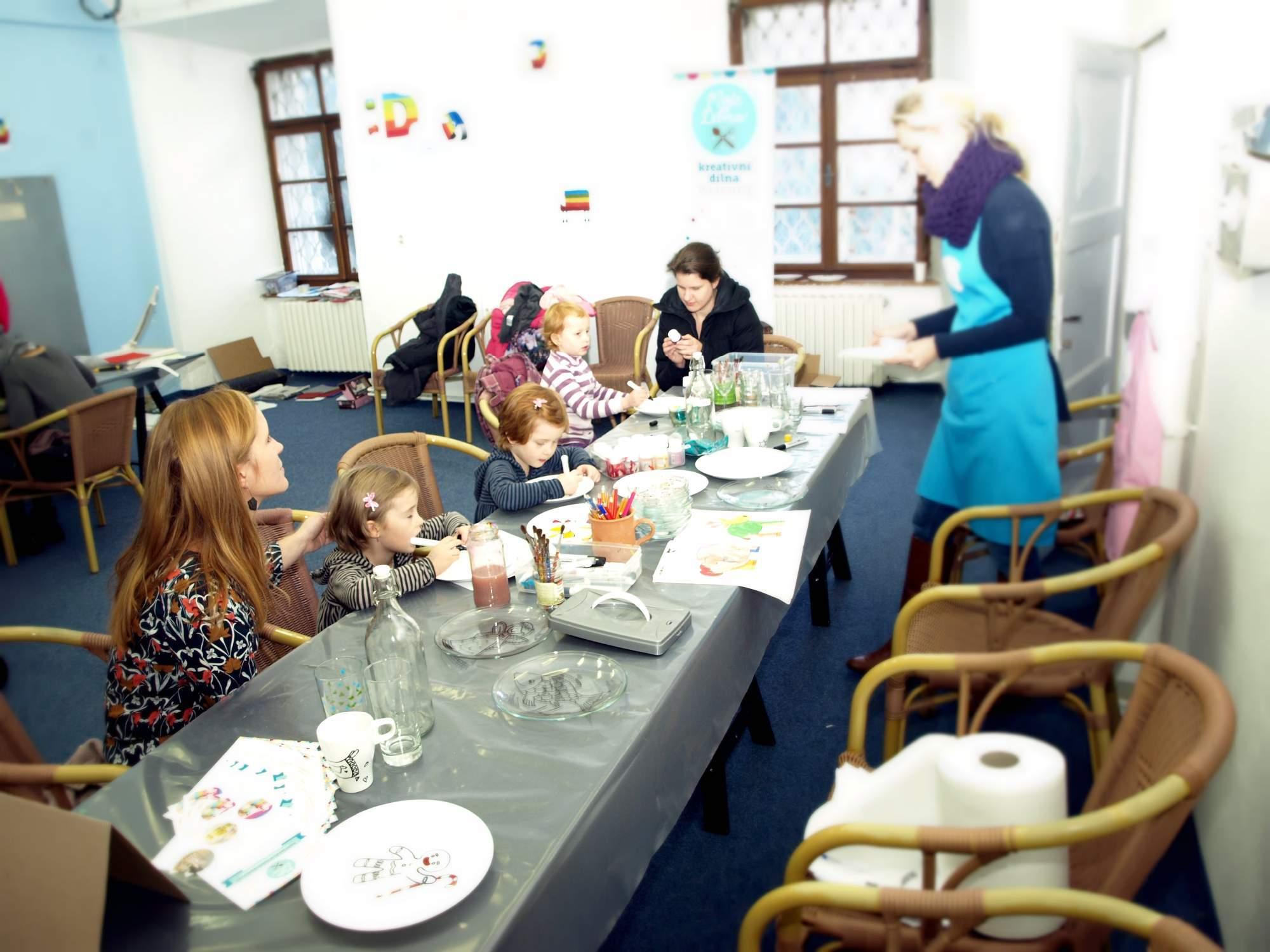 Workshopů se mohl účastnit kdokoliv. Foto: Bečáková Klára