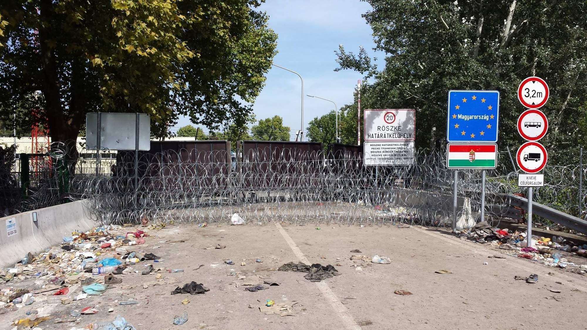 Maďarsko-srbské hranice. Foto: Jarmila Póčová