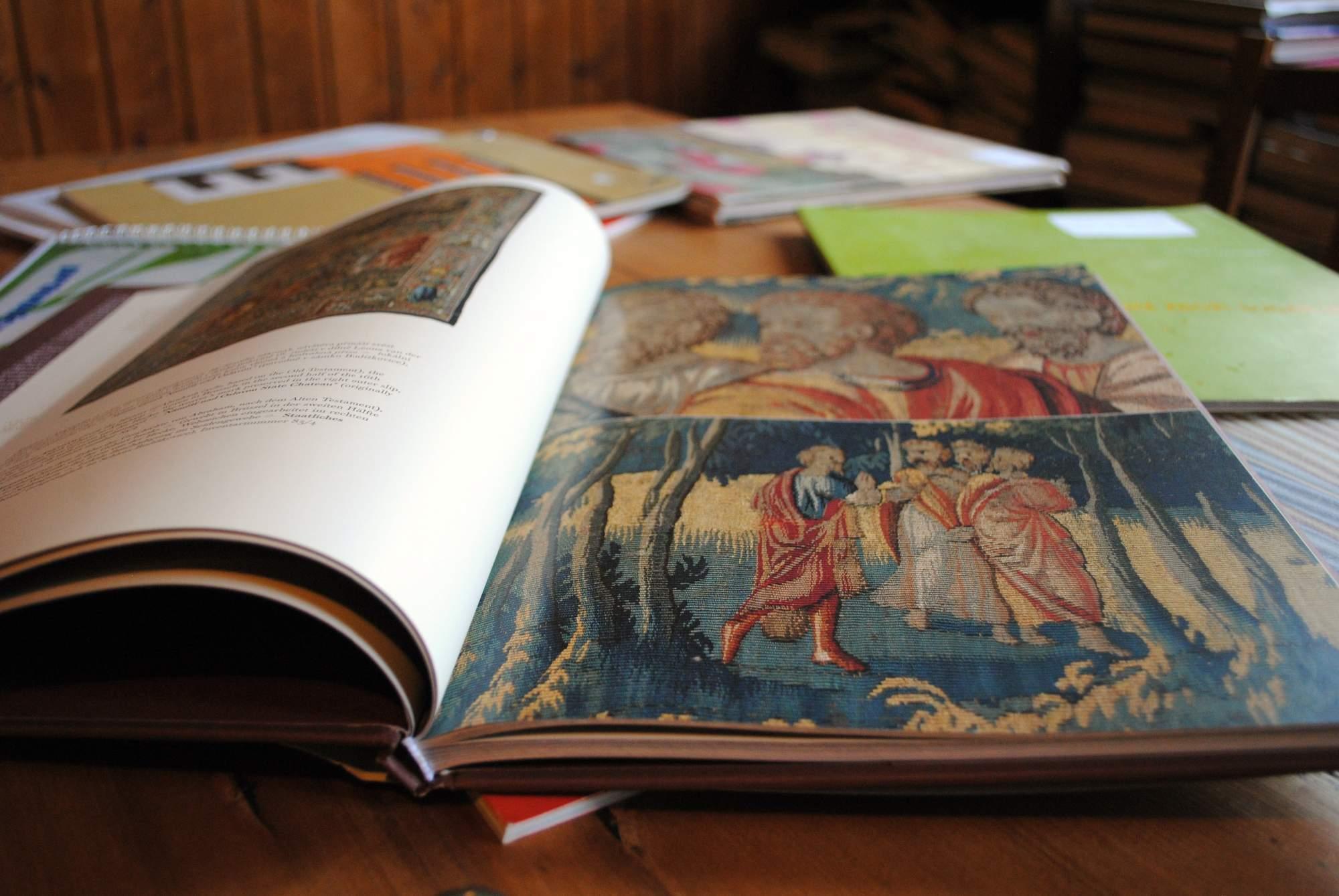 Kniha gobelínů. Foto: Bečáková Klára