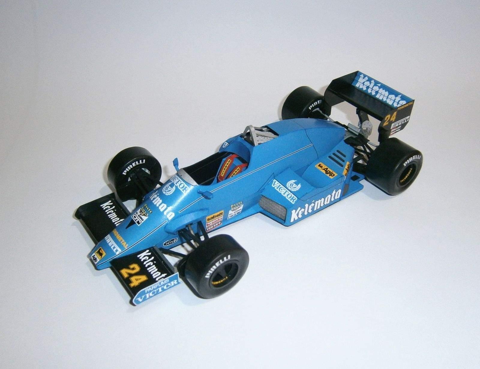 Osella FA1F Alfa Romeo - P.Ghinzani, GP San Marino-practice 1985