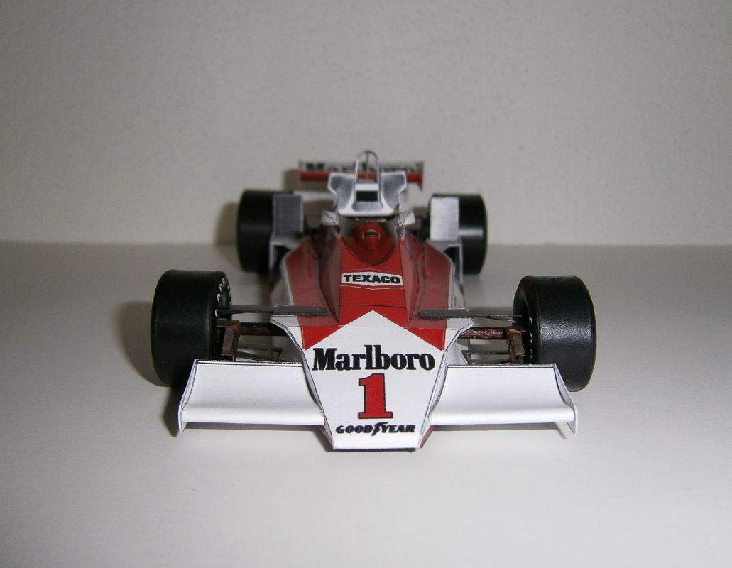 McLaren M26 - James Hunt, GP Spanish 1977