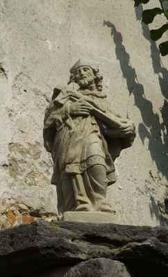johánek v bořejově sem byl umístěn k poctě místního faráře jana nepomuka jiřiště ( 1974 - 2013 )...