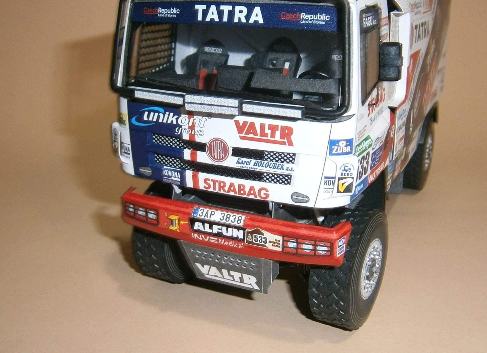 Tatra 158 Phoenix Buggyra - J.Valtr, Dakar 2016