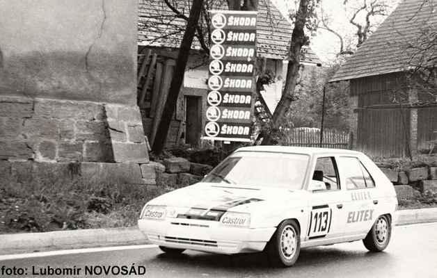 (113) KARÁSEK Milan - Motorsport Liberec - Škoda 136 L