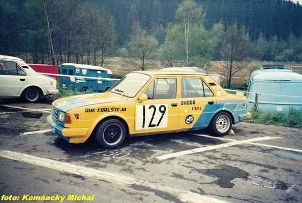 (129) PATERA Eduard - Karlštejn - Škoda 130 L