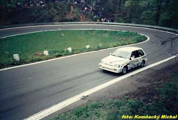 (136) MATĚJOVSKÝ Stanislav - (soutěžící) Matějovský Stanislav - Suzuki SWIFT GTi