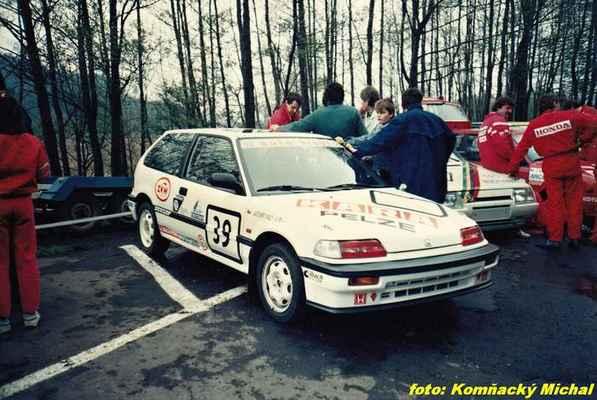 (39) MALÝ Jaromír / (soutěžící) Malý Jaromír / Honda Civic i