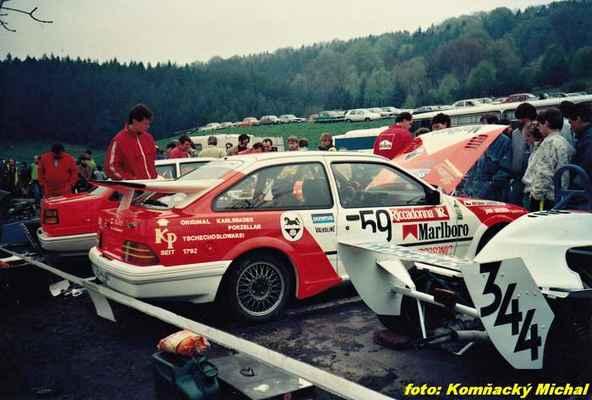 (344) VALENTA Jan - Rokycany - FŠ (59) CHAROUZ Antonín - Autoklub Praha - Ford Sierra