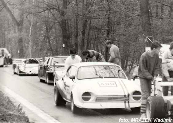 (400) ing. CHAURA Vojtěch / JZD Přepeře / Škoda 200 RS
