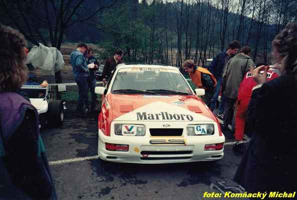 (59) CHAROUZ Antonín - Autoklub Praha - Ford Sierra