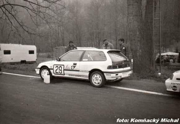 (39) MALÝ Jaromír - (soutěžící) Malý Jaromír - Honda Civic i (st.č. 29 je z předešlého závodu)