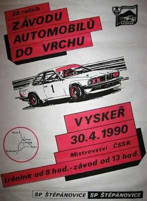 plakát ZAV Vyskeř 1990