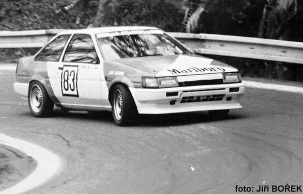 (83) VENC Josef - (soutěžící) Venc Josef - Toyota Corolla