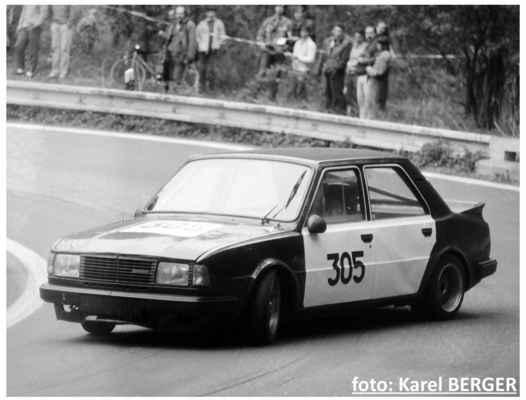 (305) HANUŠ Pavel / Karlštejn / Škoda 130 LR