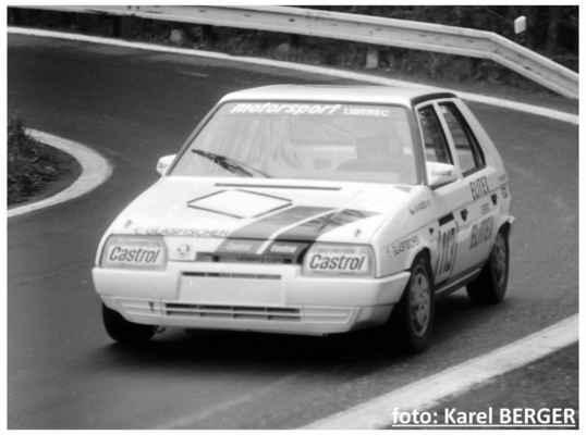 (113) KARÁSEK Milan / Motorsport Liberec / Škoda 136 L