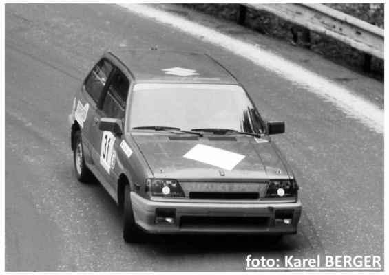 (31) KUŠ Vítězslav / (soutěžící) Kuš Vítězslav / Suzuki SWIFT GTi