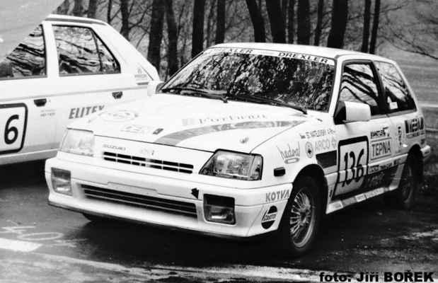 (136) MATĚJOVSKÝ Stanislav / (soutěžící) Matějovský Stanislav / Suzuki SWIFT GTi