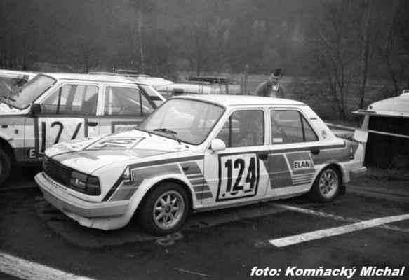 (124) LIŠKA Vladimír /(soutěžící) Liška Vladimír / Škoda 130 L