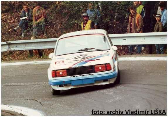 (124) LIŠKA Vladimír / Škoda 130 L