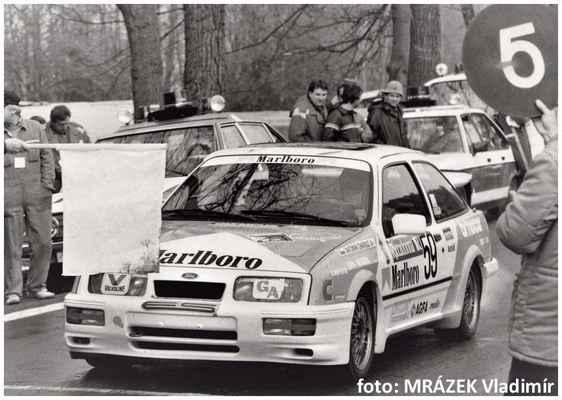 (59) CHAROUZ Antonín / Autoklub Praha / Ford Sierra