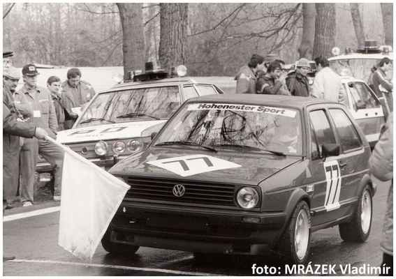 (77) DONÁT Václav / Bzí-Železný Brod / VW Golf 16V