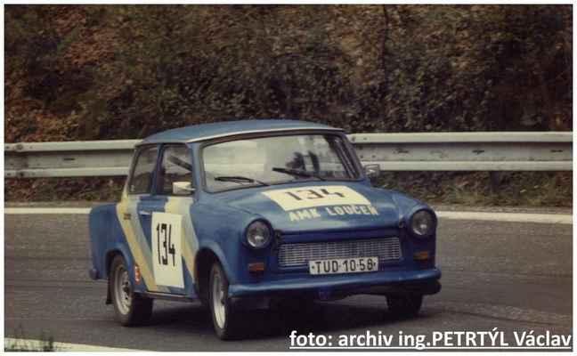 (134) ing. PETRTÝL Václav / Loučeň / Trabant 601
