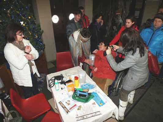 Přispívali i zdravotně postižení z charitního zařízení Betany Boskovice.