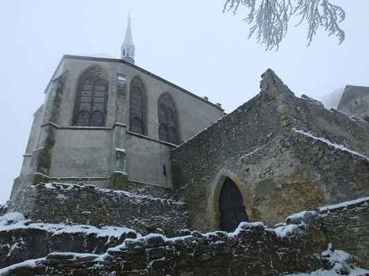 odborníci považují kapli na bezdězu za jednu z nejhodnotnější raně gotických kaplí u nás...