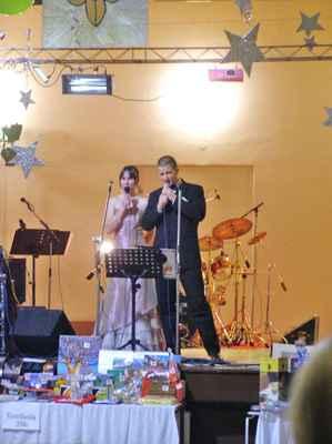 skautský ples v Novém Malíně