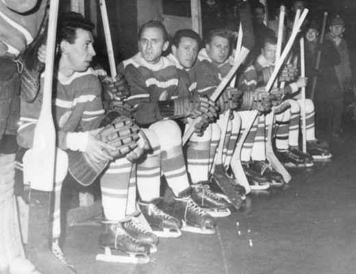 1961-KVary-Losiná - napětí na střídačce ... Čemír Kašpar, Pepík Vacek, x, Láďa Nekola, x, Bomba