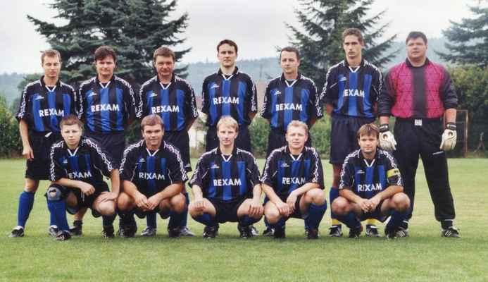 2005-muži - Zdeněk Houdek, Zdeněk Kašpar, Jirka Richter, Honza Tafat, Pavel Jambor, Martin Veleman, Robert Kreuzman Honza Fremr, Jarda Veleman, Marek Laštovka, Olda Fremr, Vlasta Šlajs