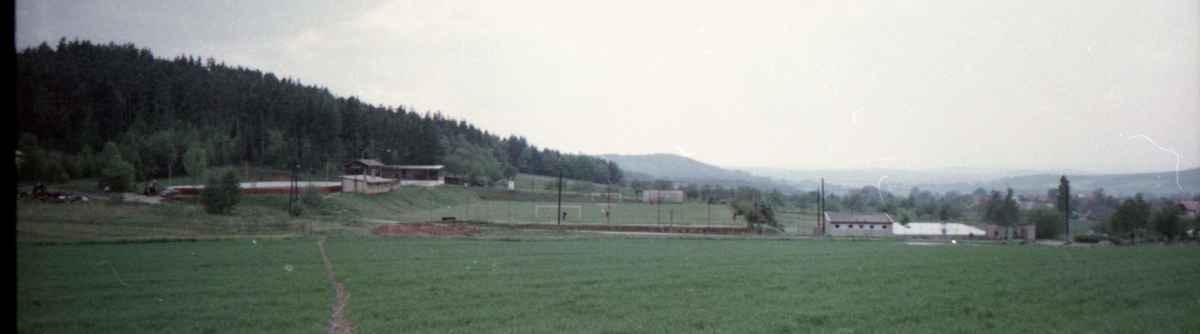 1990 - areál Sokola - 1990 - areál Sokola