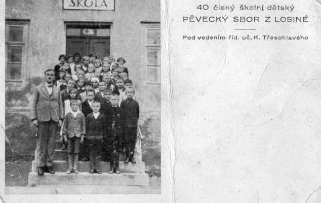 1933 ? - pěvecký sbor - cca 1933