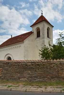 novorománský kostel sv. Martina